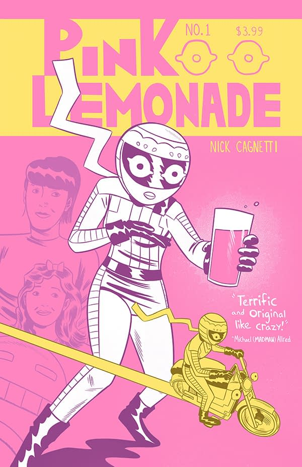 Exclusive First Look at Pink Lemonade #1 Covers, Debuting Now at HeroesCon
