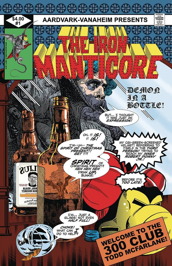 "Dave Sim Reigns it In With ""Iron Manticore"" #1"