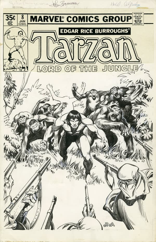 The World of John Buscema: The Art of the Michelangelo of Comics, to Go On Display in Italy