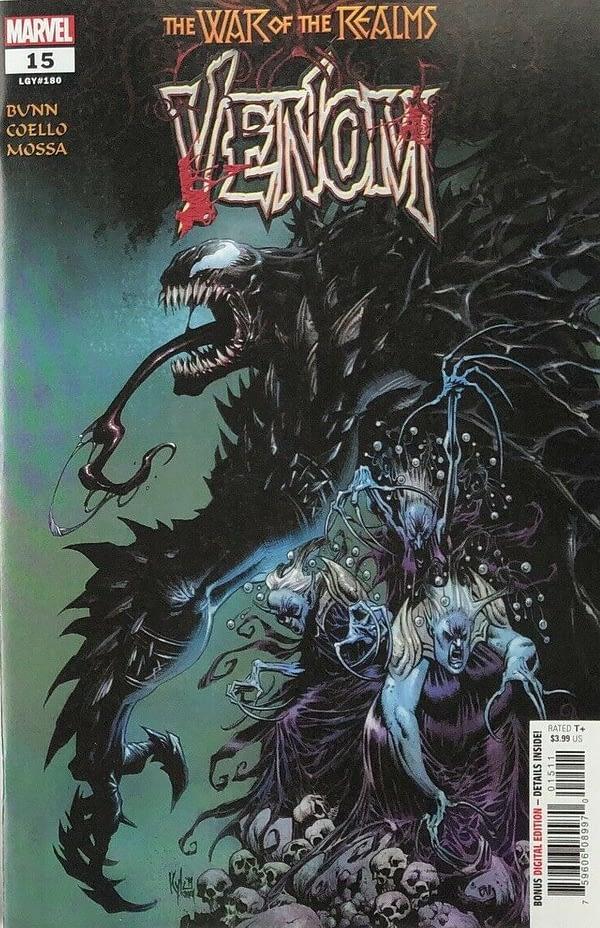 Marvel Publish 'Secret' Carnage Variant of Venom #15