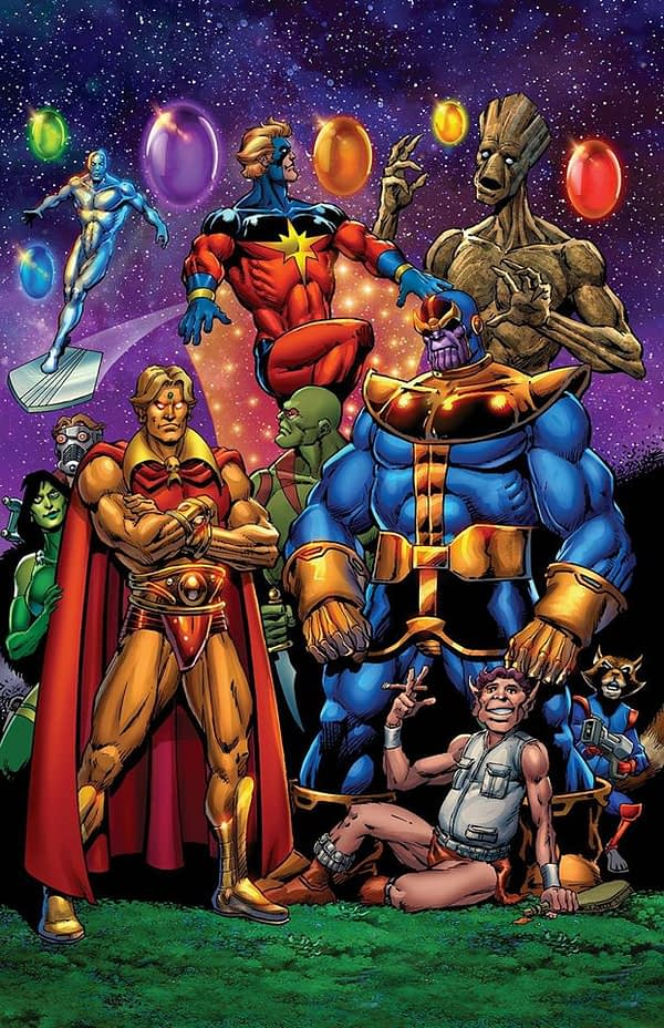 Jim Starlin and Keith Giffen Do Covers For Metal Men