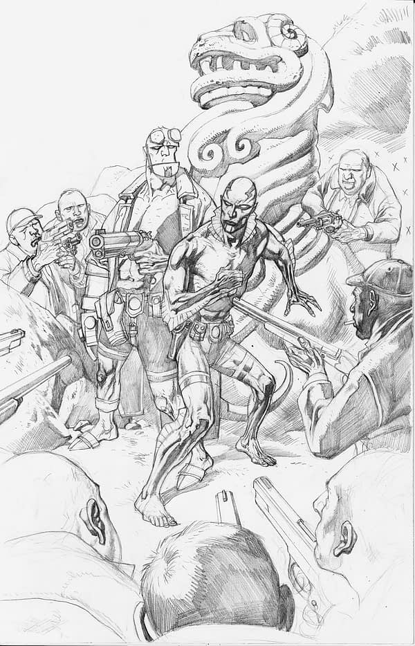Abe-Sapien-Nowlan-cover-pencils-1