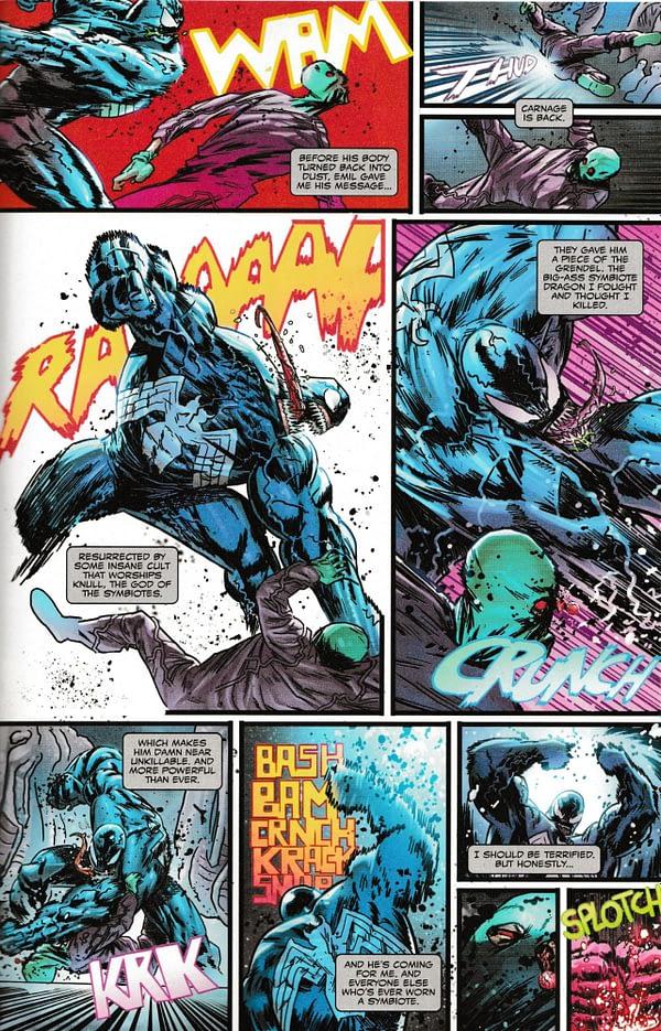 Eddie Brock Gets Up to Speed on Absolute Carnage in Venom #16 (Spoilers)