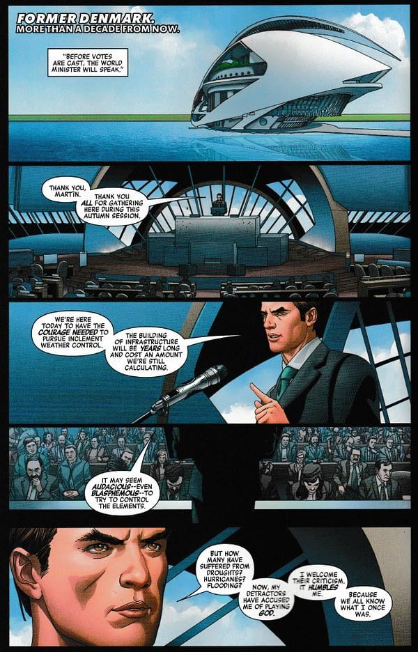 Spider-Man and Doctor Doom