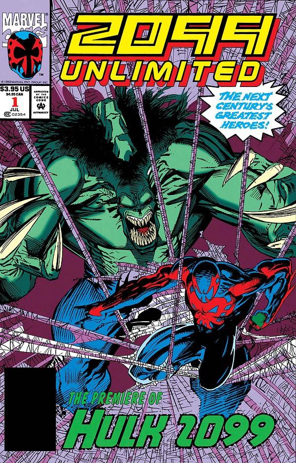 Marvel to Reprint Gerard Jones Hulk Comic for True Believers Line?