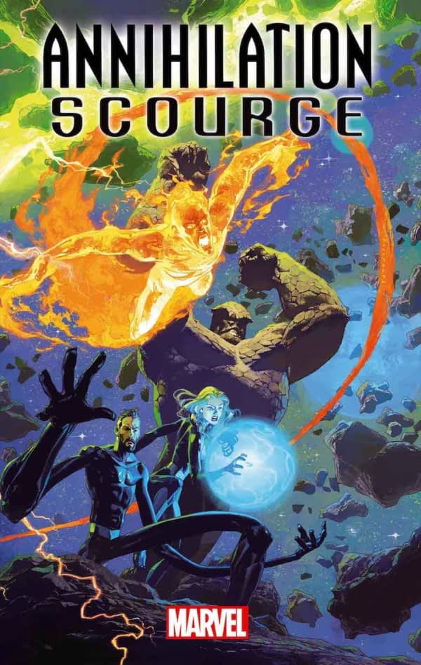 Dan Abnett Returns to Marvel Cosmic for Annihilation Scourge in December Solicits