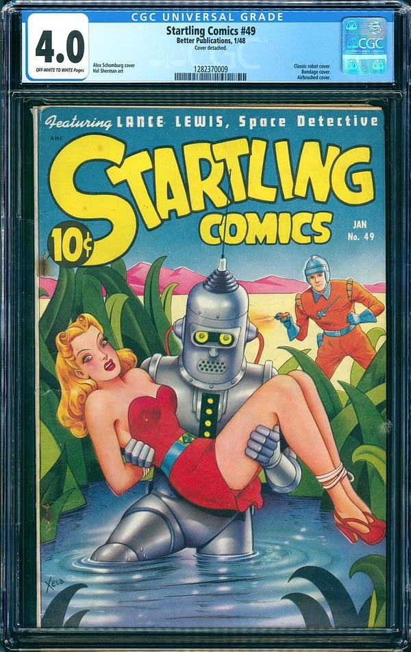 Startling Comics #49 Bender prototype