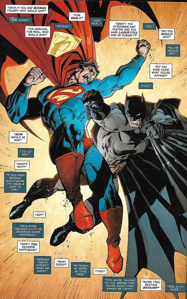 Does Superman Believe in God? Who Wins When Superman Fights Batman? and more Questions Answered - Looking at Superman Giant #16 (Mild Spoilers)