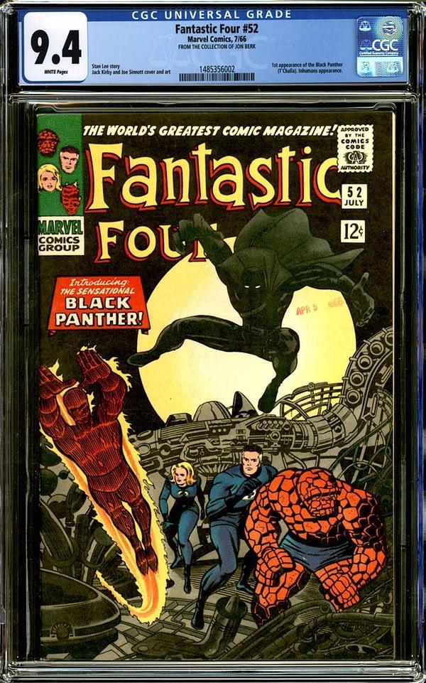 Fantastic Four #52 CGC 9.4