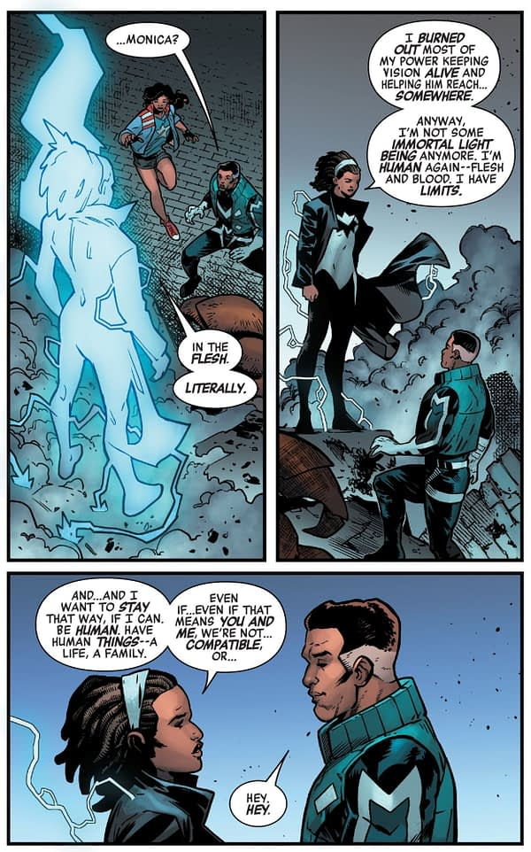 New Powers For Monica Rambeau in Avengers: No Road Home #10