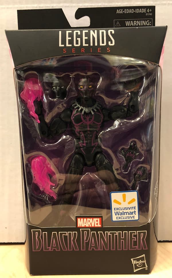 Black Panther Marvel Legends Walmart Exclusive 1