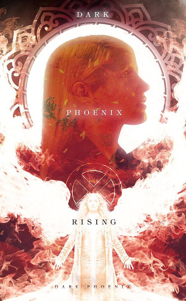 BossLogic's New 'Dark Phoenix' Poster is GORGEOUS