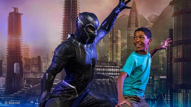 Black Panther Meet-And-Greet California Adventure