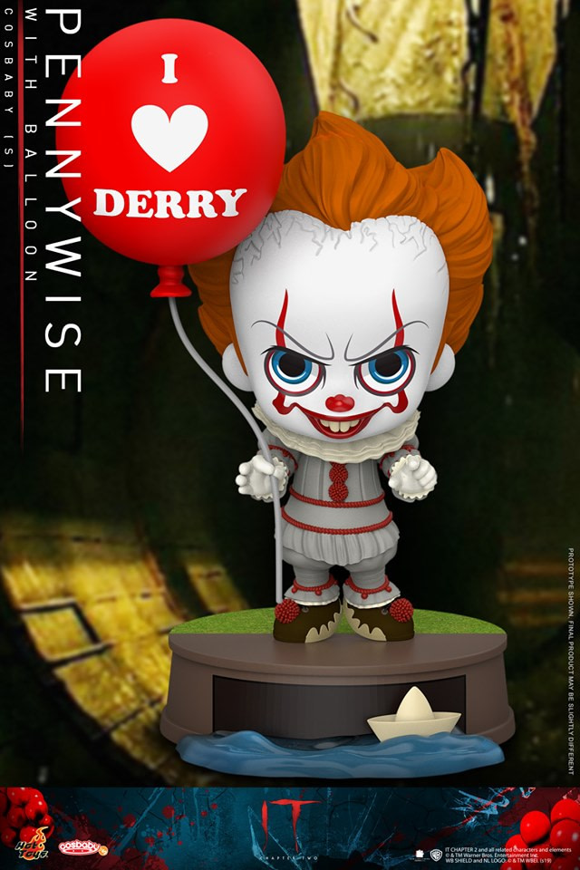 IT Gets Cute but Deadly with New Hot Toys Cosbaby Figure