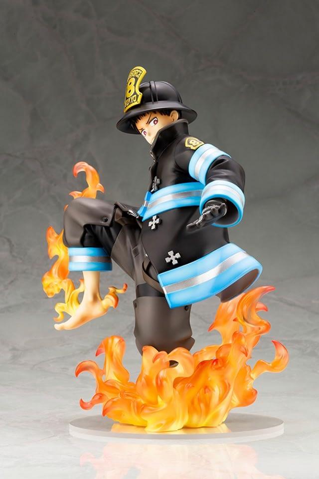 """Fire Force"" has Arrived on Scene with Kotobukiya Statue"