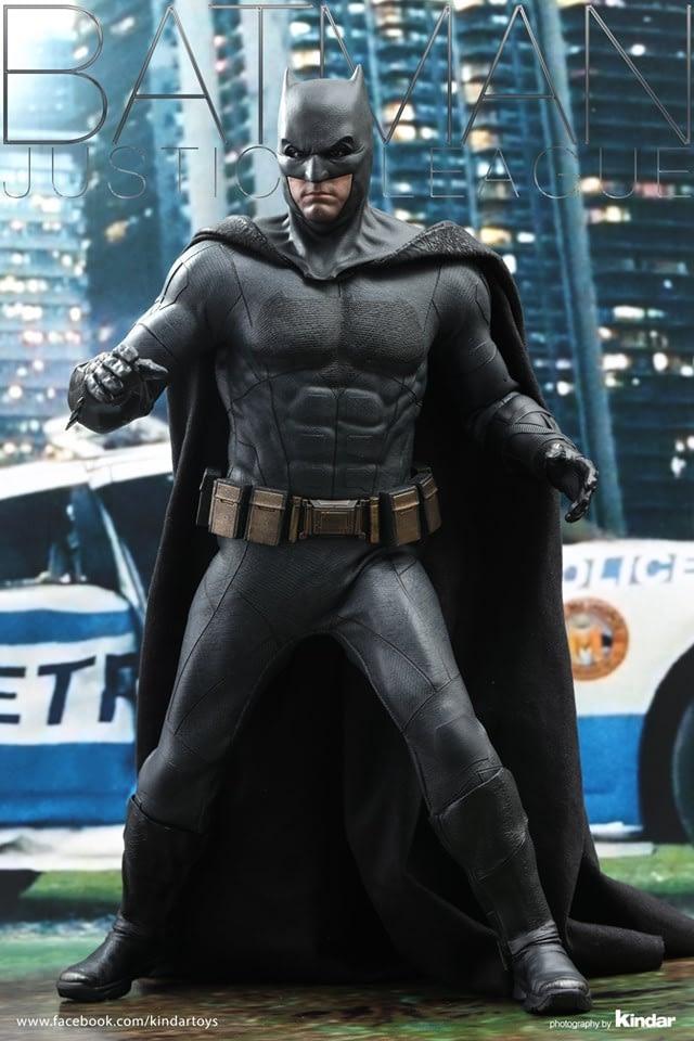 Hot Toys Shows Final Product for Justice League Batman