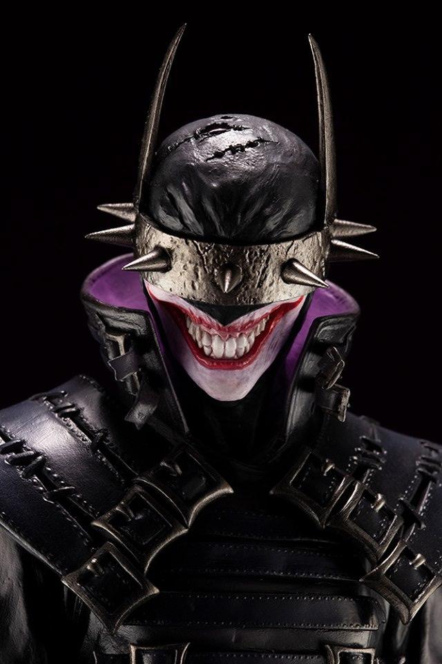 Batman Who Laughs Makes His Villainous Appearance with Kotobukiya