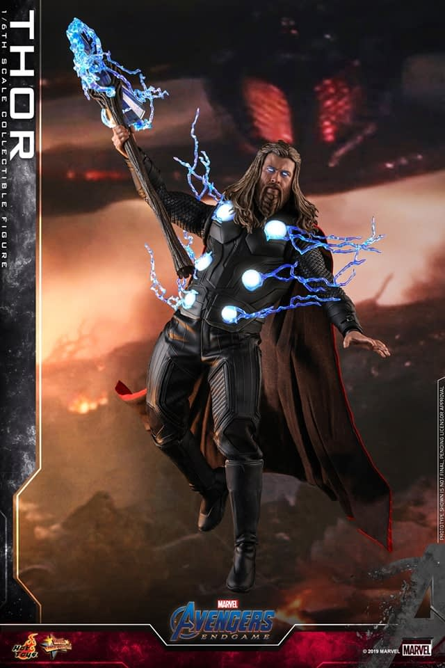 Thor Is Still Worthy in Upcoming New Hot Toys Figure