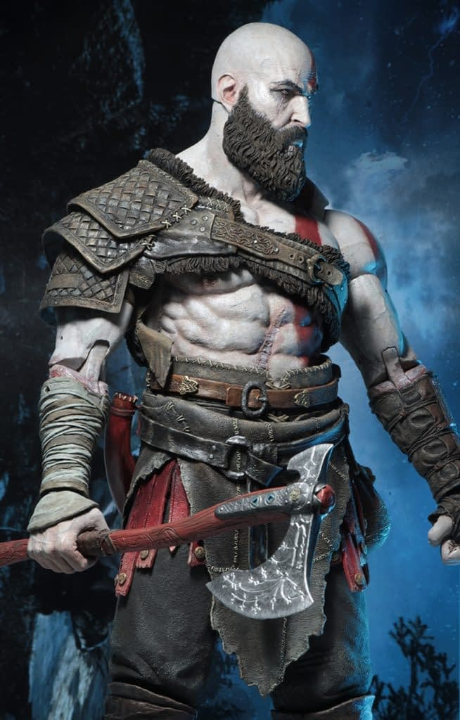 NECA God of War Kratos 1