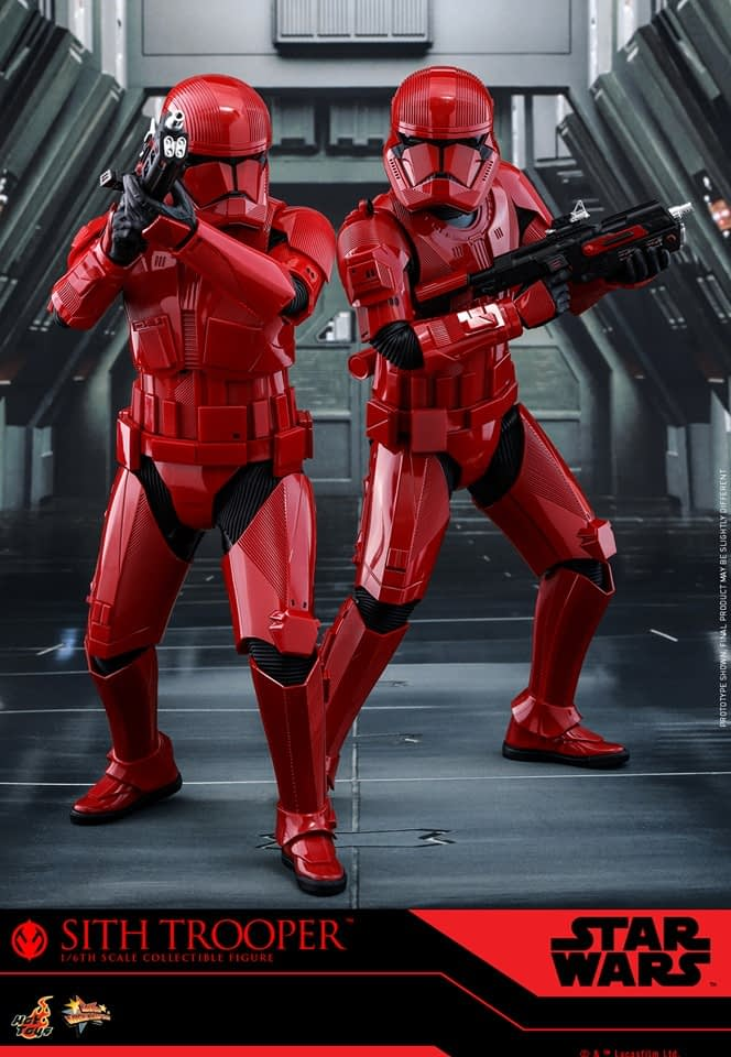 Sith Trooper Helps You Embrace the Darkside with New Hot Toys Figure