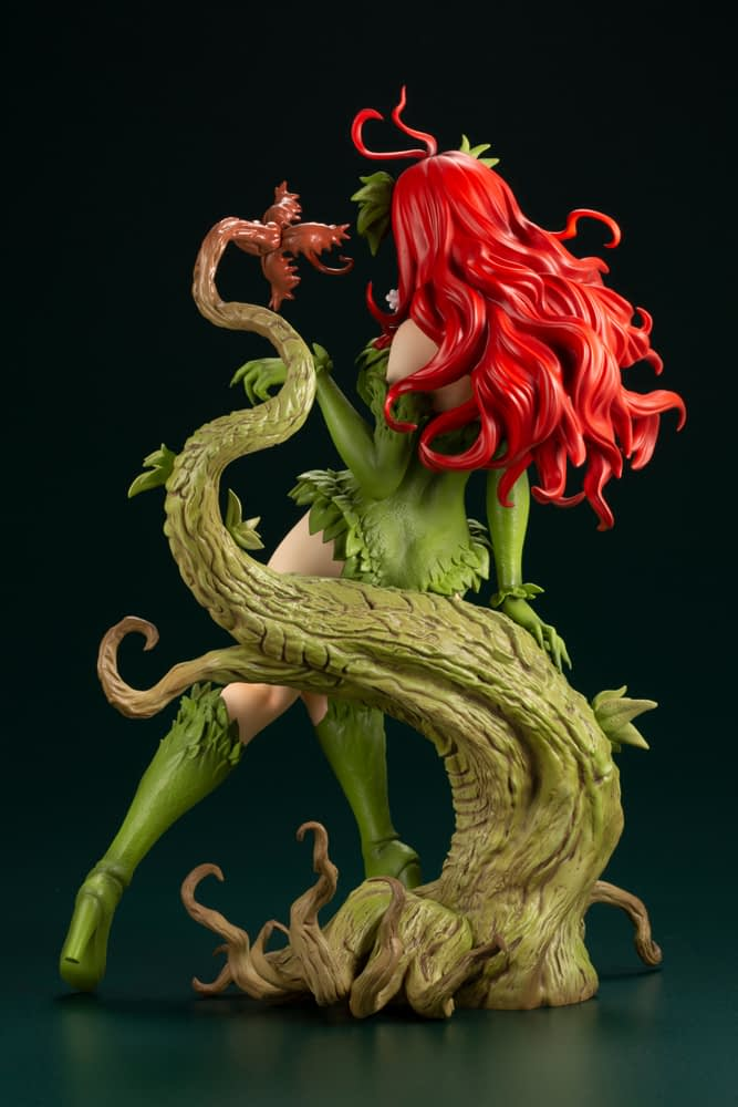 Poison Ivy Brings Bewitching Beauty with New Bishoujo Statue from Kotobukiya
