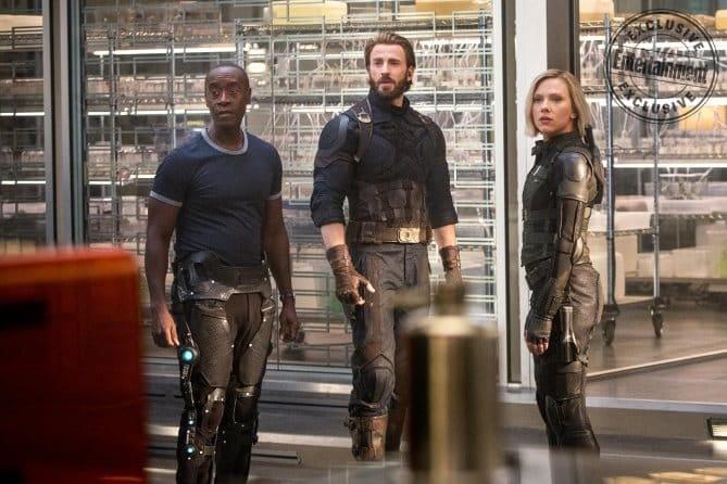 Infinity War chris evans