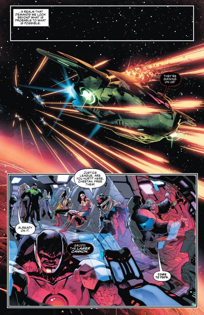 What Horrors is Superman Imagining Now? Justice League #24 Preview