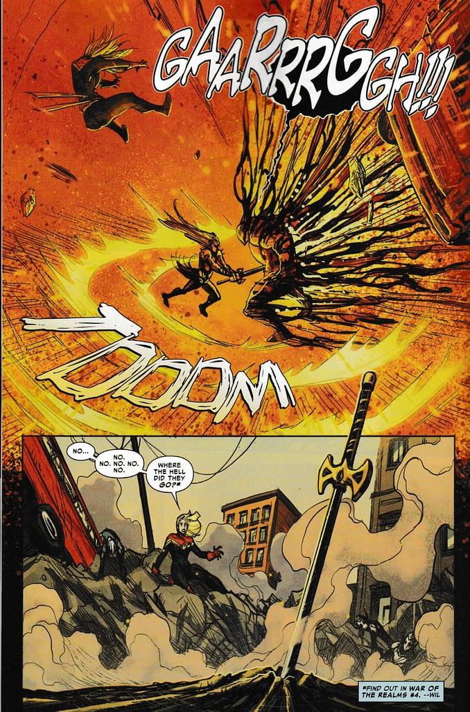War Report - War Of The Realms #4, League Of Realms, Giant-Man & Strikeforce: War Avengers