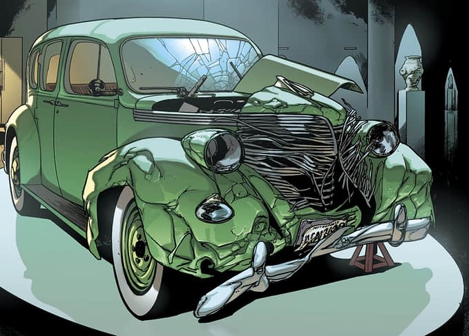 The Battle For That Action Comics #1 Car Continues in Doomsday Clock and Event Leviathan (Spoilers)