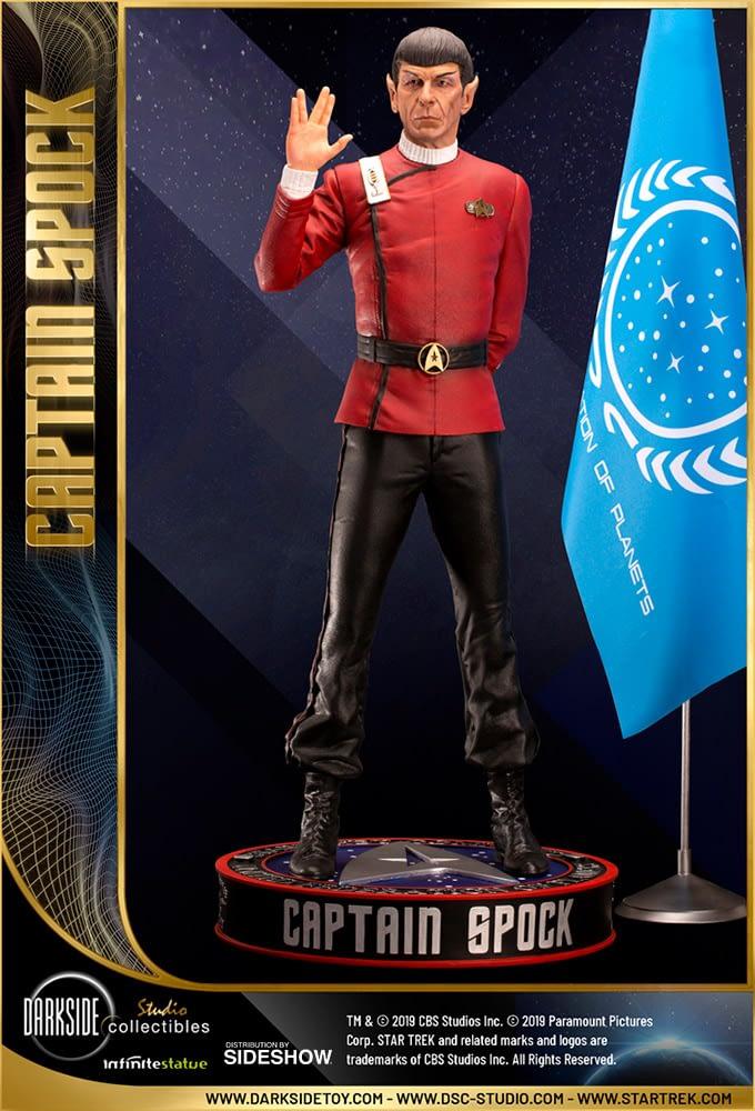 Star Trek vive muito e prospera com nova estátua da DarkSide