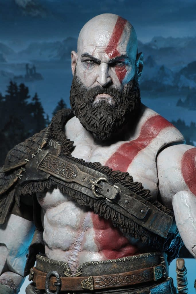 NECA God of War Kratos 5