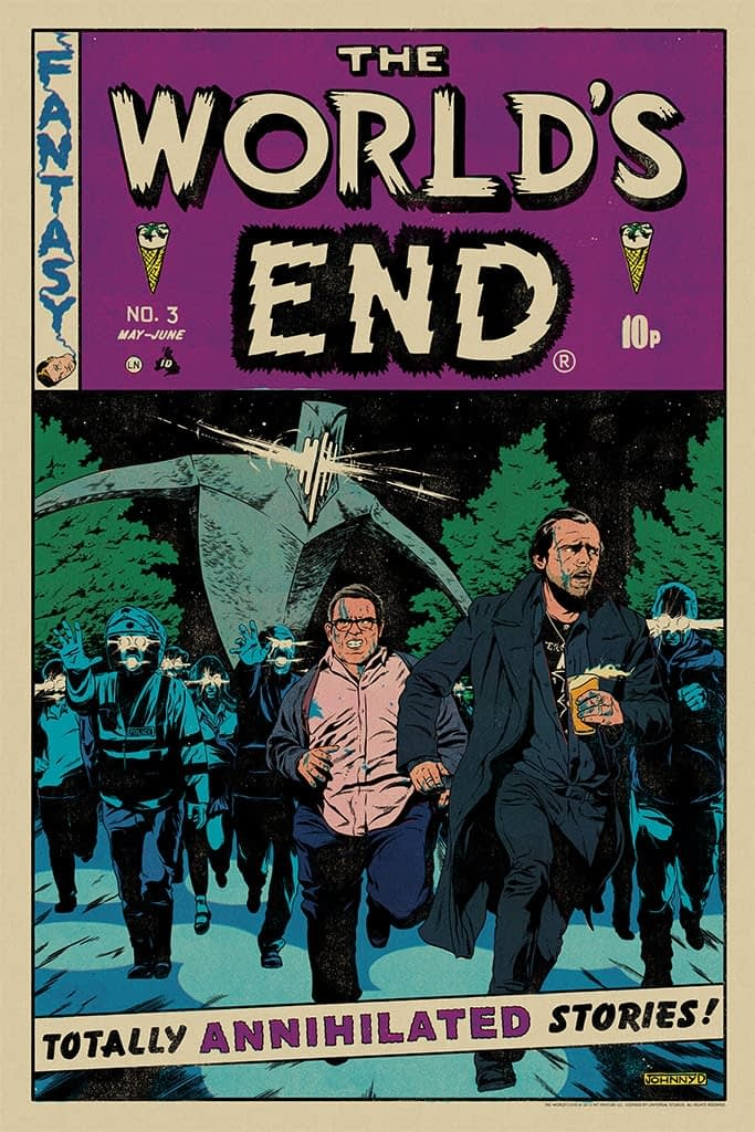 Mondo The World's End Poster