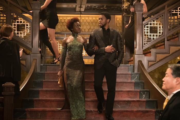 Black Panther casino scene