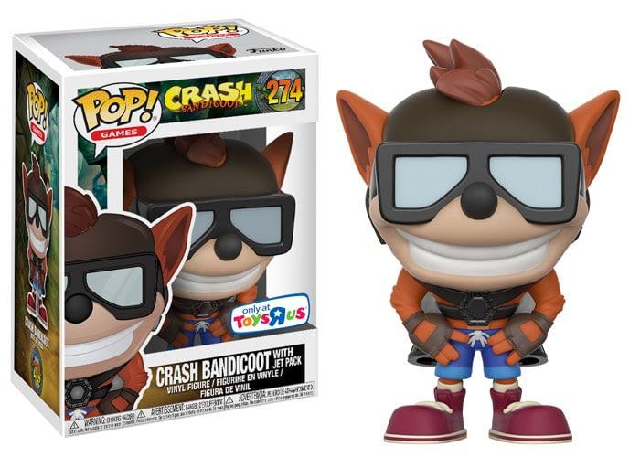 Funko Crash Bandicoot Pop With Jetpack