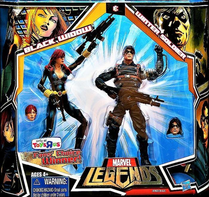 Marvel Legends TRU Exclusive Winter Soldier Two Pack