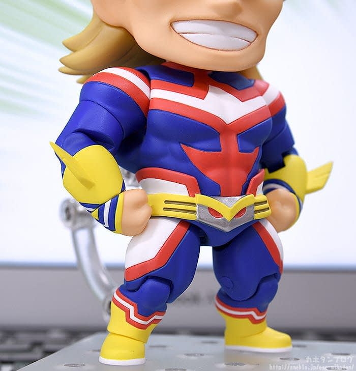 Good Smile Company Announces New All Might Nendoroid