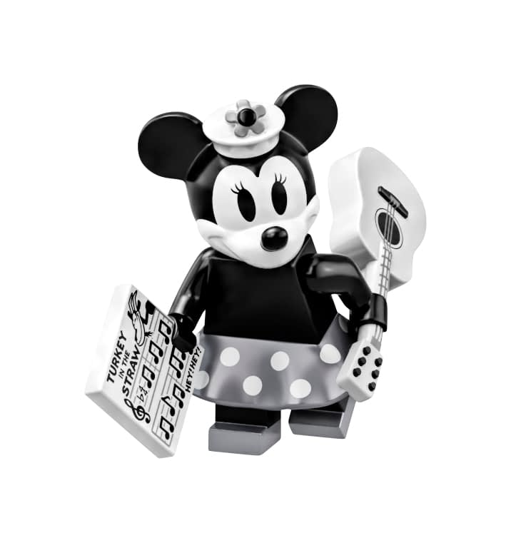 LEGO Ideas Steamboat Willie Mickey and Minnie Mouse Set 9