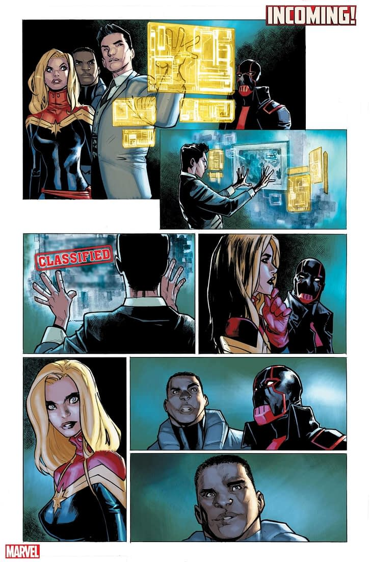 5 Pages From Marvel's Next Event Comic, Incoming