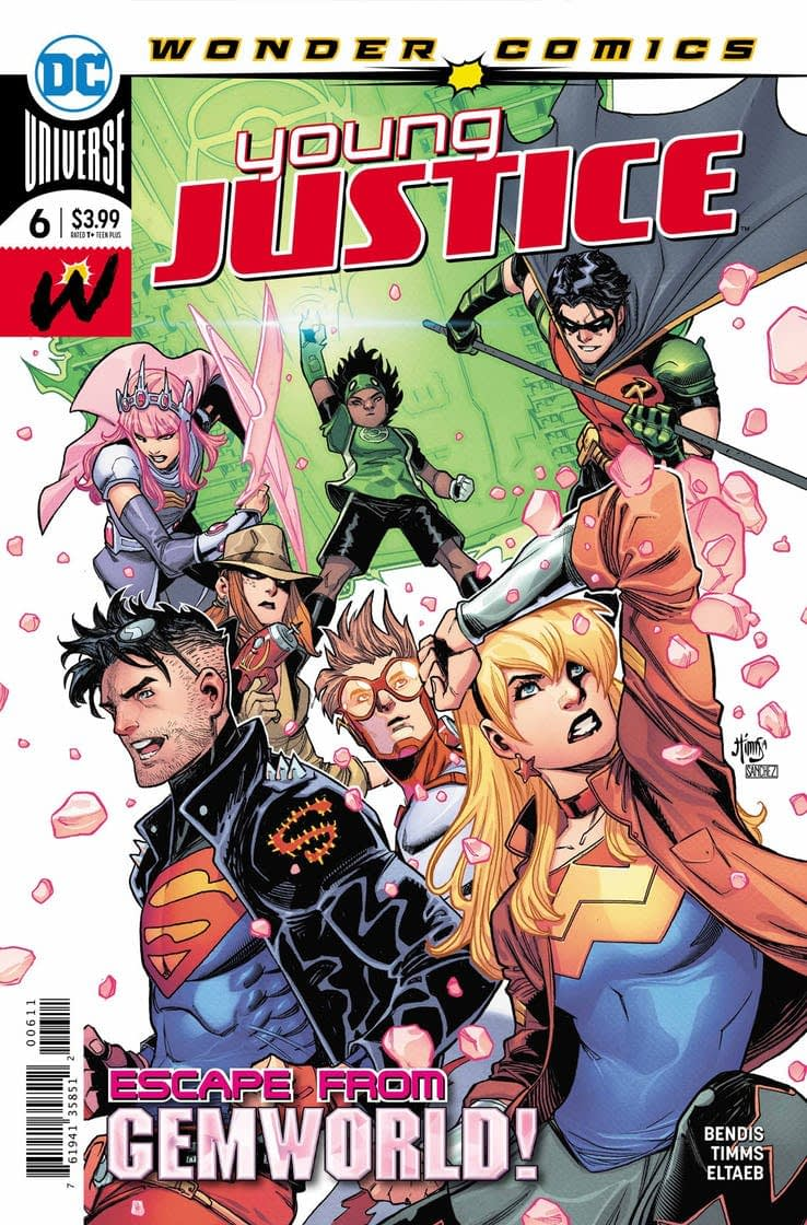 Will Superboy Explain the Birds and the Bees in Young Justice #6? (Preview)
