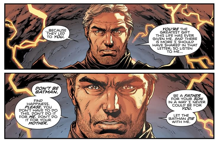 Batman #22 Rebirth Thomas Wayne