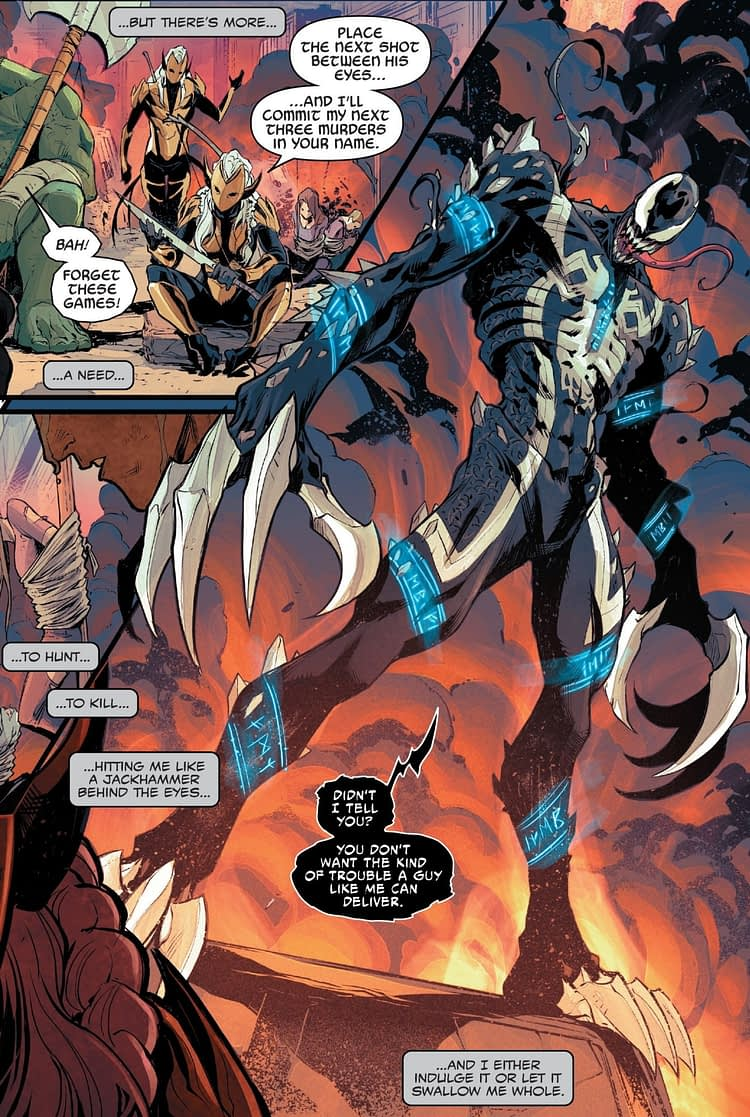 What's Up With Venom In War Of The Realms #3 Then? (Spoilers)