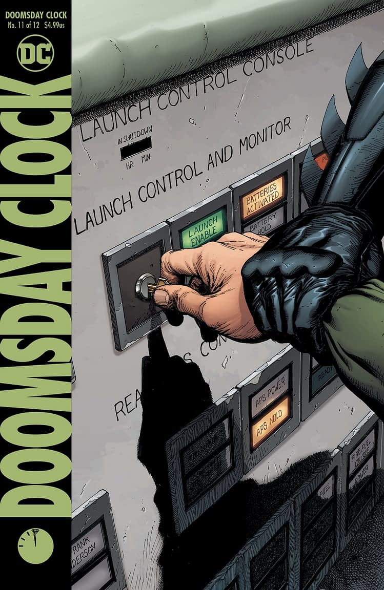 LATE: Doomsday Clock #11 Now 15 Weeks Late, Shazam #7 Only 10 Weeks, Batman/Superman #1, Just Two…