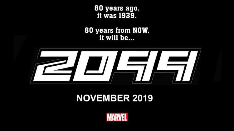 Nick Spencer Revives 2099 From Marvel Comics in November