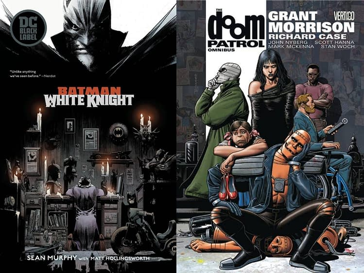Now DC's Cancellation of Reprints for Batman: White Knight and Doom Patrol Omnibus Has Been Cancelled