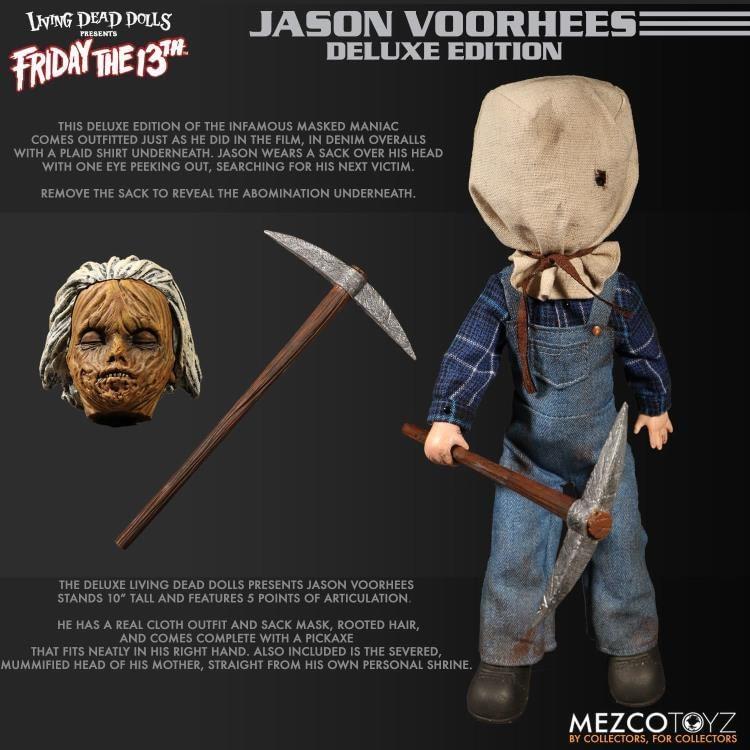 Mezco Toyz Living Dead Dolls F13 Part 2 Jason 8