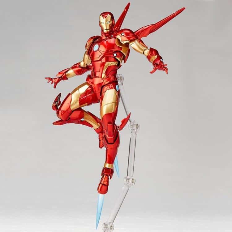 Revoltech Iron Man Figure 4