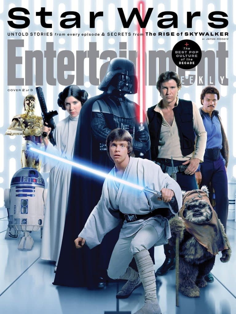 """Star Wars"": 3 New EW Covers Highlight the Entire Skywalker Saga"