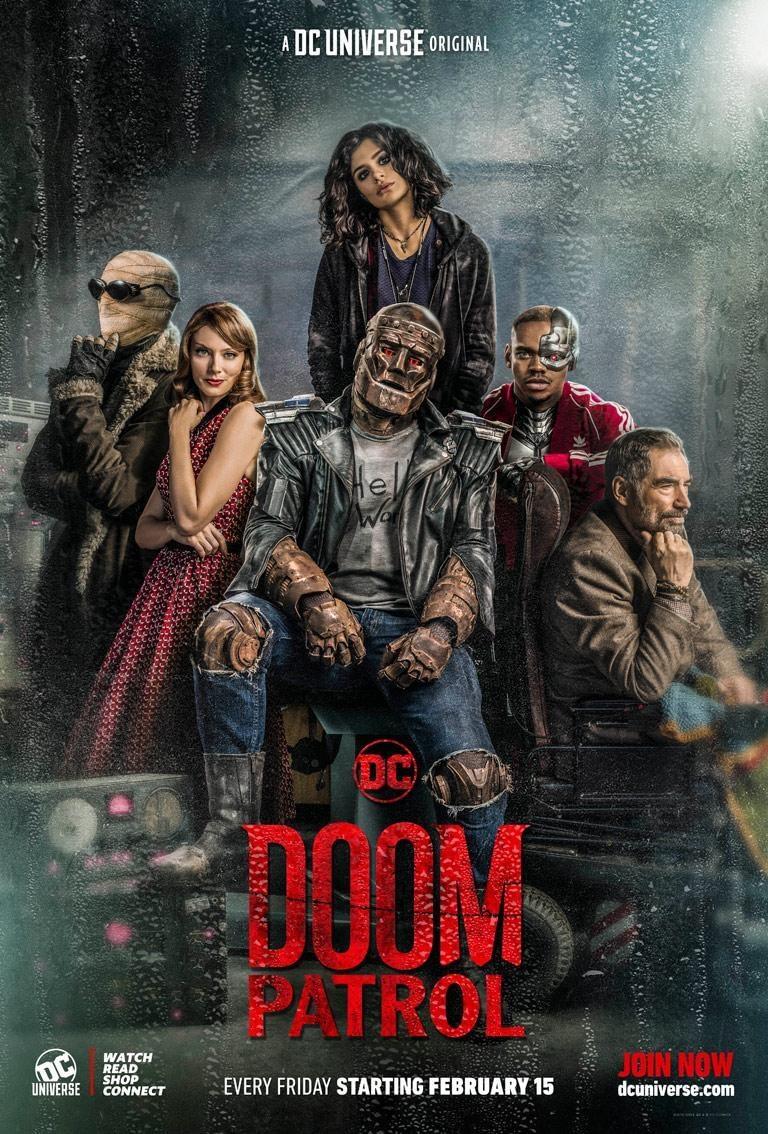 doom patrol morrison characters