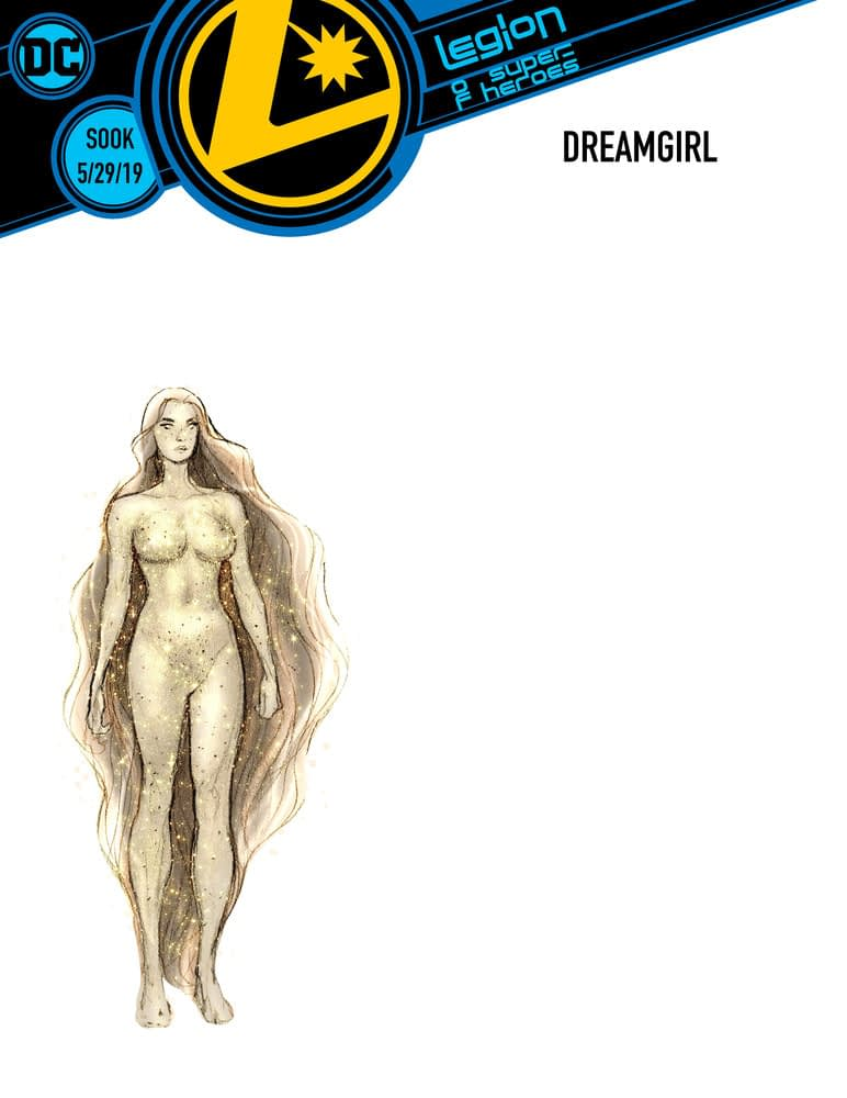 DC Reveals Interior Pages, Character Designs for Legion of Superheroes: Millennium