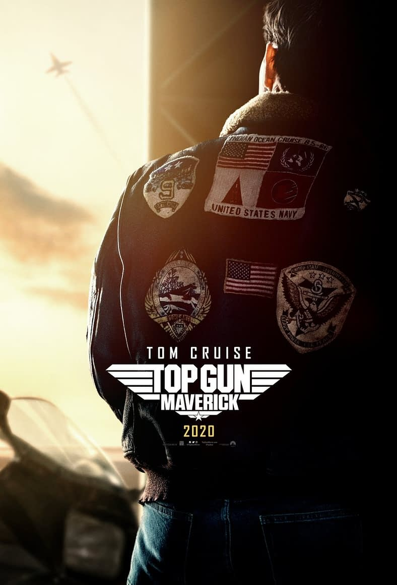 "First Trailer and Poster for ""Top Gun: Maverick"" Premieres After Hall H Presentation"